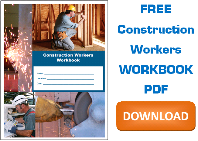 Free Construction Workers Workbook